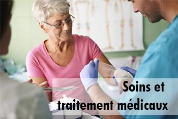 Soins et traitement médicaux