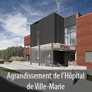 Projet d'agrandissement de l'Hôpital de Ville-Marie