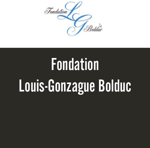 Fondation Louis-Gonzague Bolduc